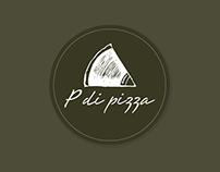 Cardápios e Display P di pizza