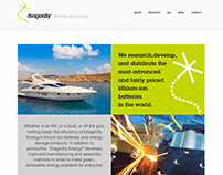Dragonfly Energy Website Design