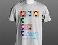 Fams on shirt