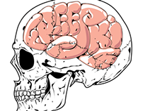 Freeski Skull