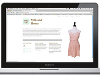 Milk and Honey Website