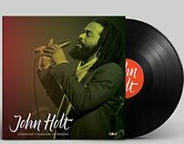 Logo-lettering John Holt tribute