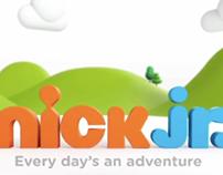 Nickelodeon Jr Rebrand TV ad 2013