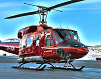 Air Greenland, Bell 212 - safety on board