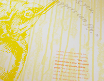 Eighth Exodus: Letterpress Posters