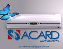 "Acard ""Butterfly"""