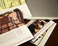 Brochure Design: KMC & IT Lab, NID