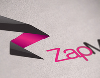 Zapmeet logo and concept design