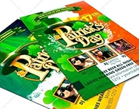 St. Patrick day flyer