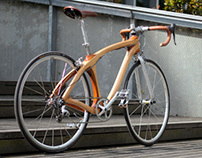 Wood bicycle Mark2
