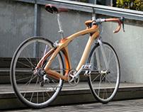 Wood bicycle Mark2