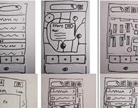Paper Prototype - Shopping App