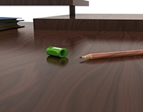 Pencil Sharpener Rendering Solidworks