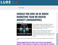 HIRE AN IN-HOUSE MARKETING TEAM OR DIGITAL AGENCY?