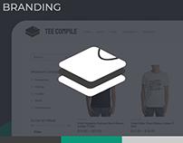 Tee Compile Brand Identity Design