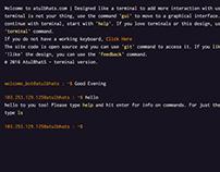Terminal Website - UI, UX, WebDesign