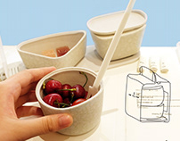 Airline Catering Set