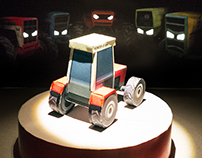 5 peep boxes - Paper, mirrors and disco ball motors