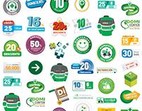 Cruz Verde Colombia - Diseño gráfico