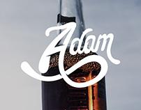 Étiquette de cidre / Handmade - Adam