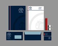 Фирменный стиль и логотип для ProLab