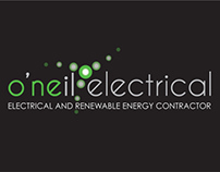 O'Neil Electrical -Branding and Web design