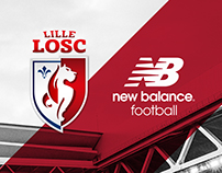 Lille OSC 17-18 Home Kit Launch Key Art