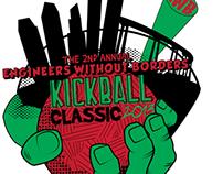 Engineers Without Borders Kickball Shirt