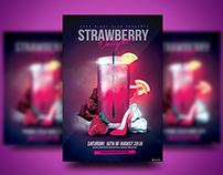 Strawberry Delight Flyer