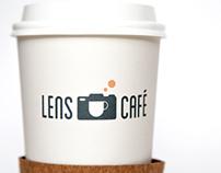 Lens Cafe Branding