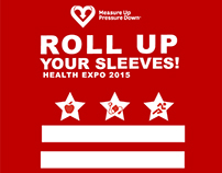 Roll Up Your Sleeves Health Expo
