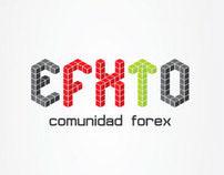 EFXTO - visiual identity, web design