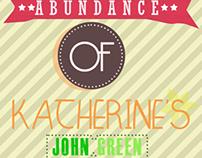 A John Green Book Poster