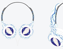 AT BLUEPRINT headphone design (competition entry))