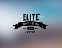 ELITE Creative Group Logotype Design and Branding