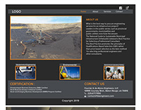 Website design for an Engineering Firm
