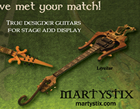 Boutique Guitar Ad