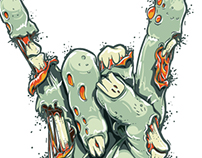 Cute Zombie Hand