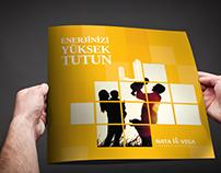 Nata Vega - Konut kuleleri katalog tasarımı