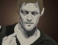 "Vector Artist ""The Walking Dead"""
