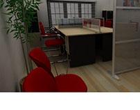 Small Office Interior Concept
