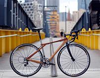 Wood bicycle Mark3