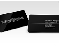 Aluminum Executive Business Cards