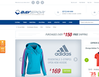 Sports Equipment E Commerce Theme
