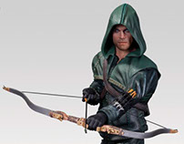 Oliver Queen Statue - Arrow