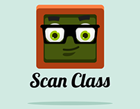 """Scan Class"" App icon and Splash Screen"