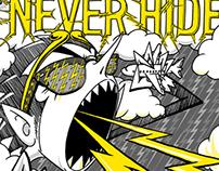 Ray-Ban Poster Sketches 2010