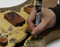 GUITARRA CUSTOMIZADA - SWU Music and Arts Festival