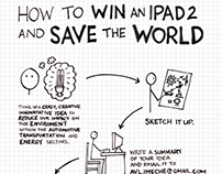 AVL - Win-an-iPad Competition Poster - 2011