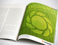 Gardena Print Ad – Redesign
